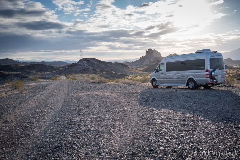 Boondocking at Craggy Wash in Arizona