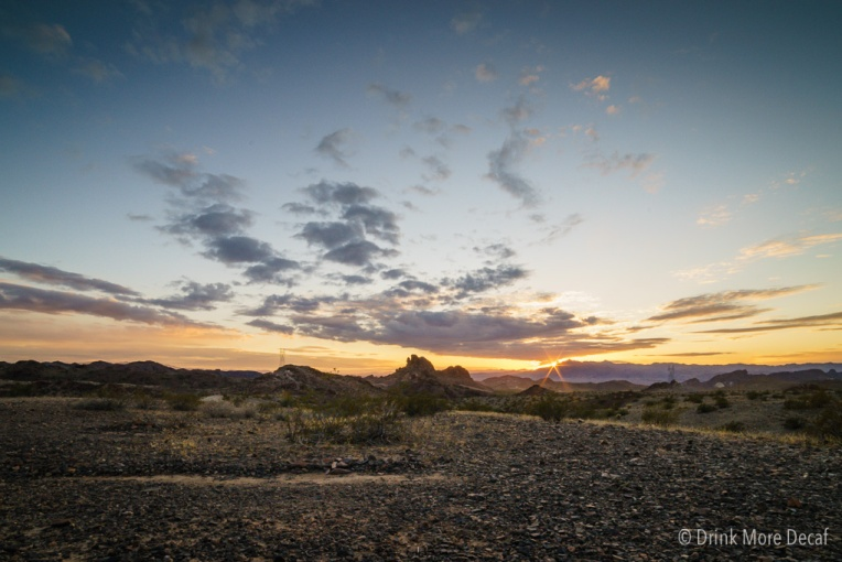 Craggy Wash Sunset Photo by Dave